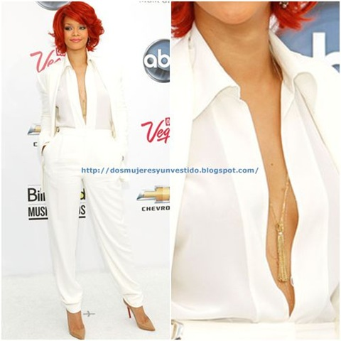 Rihanna-arrives at the 2011 Billboard Music Awards