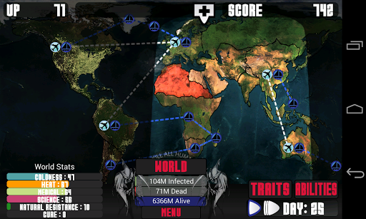 Universe Pandemic