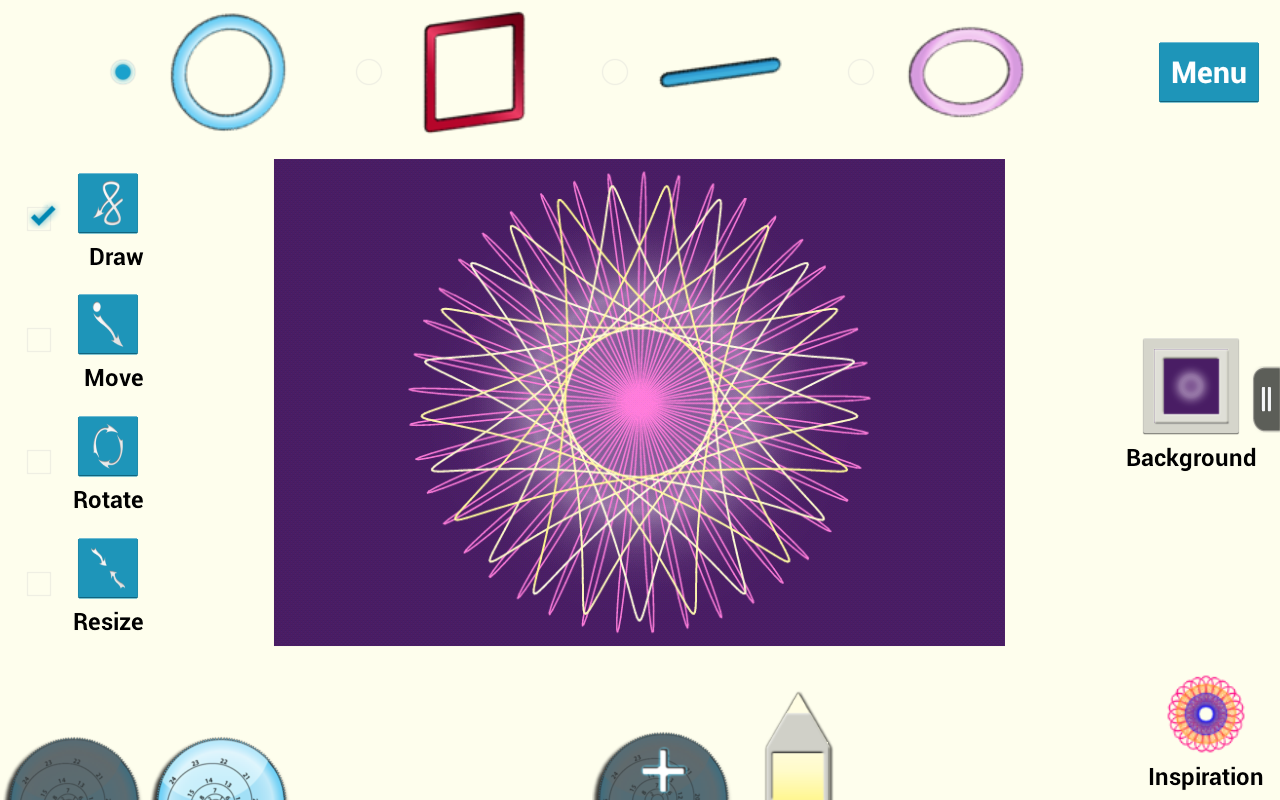 Super Spiral Graph- screenshot