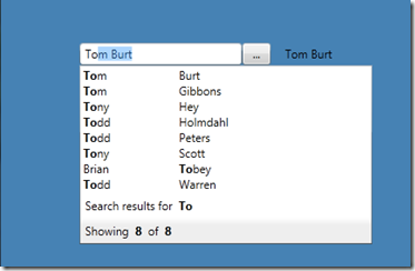 WPF Highlight AutoComplete Textbox |  NET Dev Gig