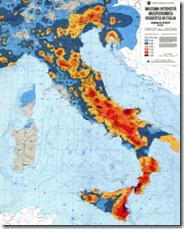 Rischio idrogeologico in Italia