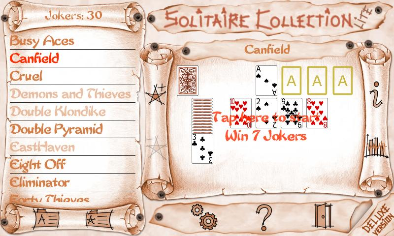 Solitaire Collection Lite - screenshot