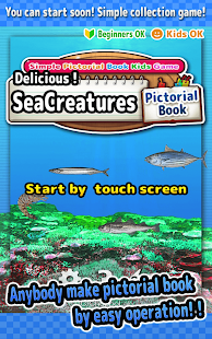 Delicious! SeaCreatures -Simple Kids FREE Game -- screenshot thumbnail