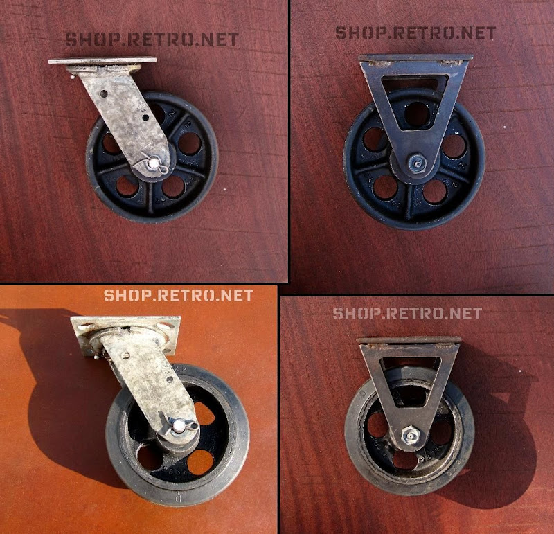 Marvelous Antique Caster Wheel Vintage Industrial Furniture Download Free Architecture Designs Embacsunscenecom