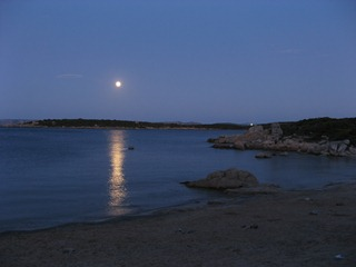 This is the moon rising over the Costa Smeralda, Sardinia. It has nothing to do with revision control.
