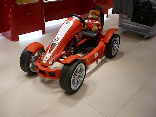 Minimalist Ferrari