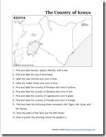 Mapping Kenya