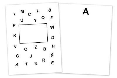 The Preschool Corner: Alphabet Book