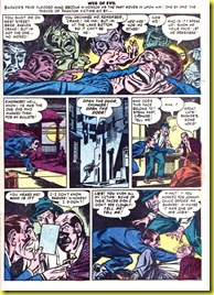 Comic book images of man haunted by guilt_Web of Evil 6_4
