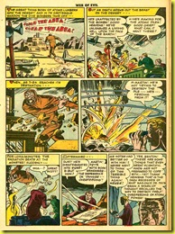image: atomic explosion in comic book page from 1953