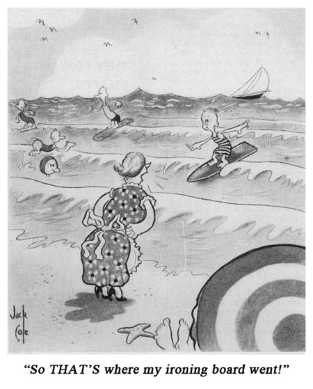 Jack Cole Cartoon Boys Life 1938 May