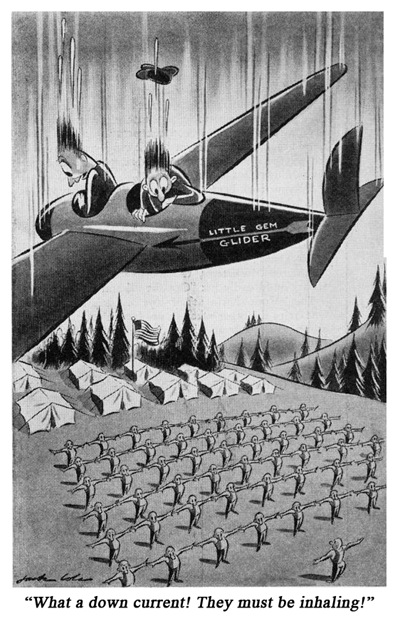 Jack Cole Cartoon Boys Life 1940 April