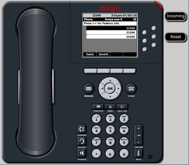 9630 Avaya phone Manual