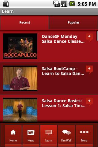Salsa Dance - screenshot