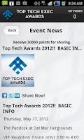Screenshot of Top Tech Awards