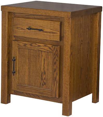 Matching Furniture Piece: Ashton Nightstand with Door, Autumn Oak