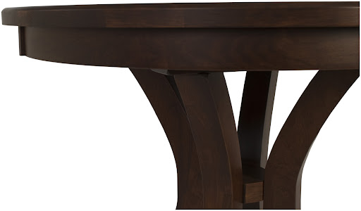 "36"" Diameter Montrose Dining Table in Mahogany Oak"