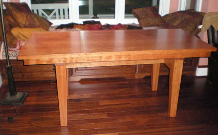 "70"" x 32"" Table in Chocolate Cherry"