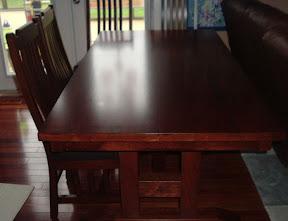 Washington table set