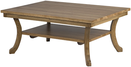 Montrose Coffee Table Shown in Sunset Hickory