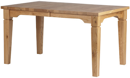55 x 35 Harvest Dining Table in Custom Knotty Oak