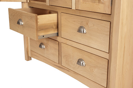 Catalina Dresser in Natural Maple