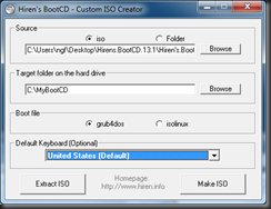 Hiren's CD – Creating Ghost32 uha with Uharc exe | Fdo's Workspace