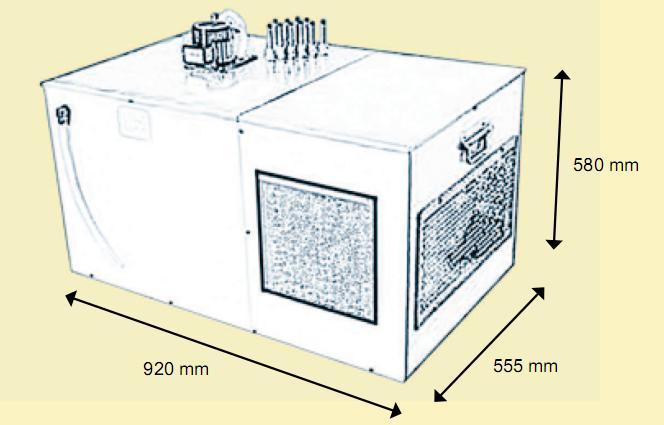 пивной охладитель Корнелиус EVO-160H
