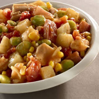 Hearty Slow Cooker Brunswick Stew.