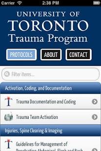 玩免費醫療APP|下載U of T Trauma Protocols app不用錢|硬是要APP