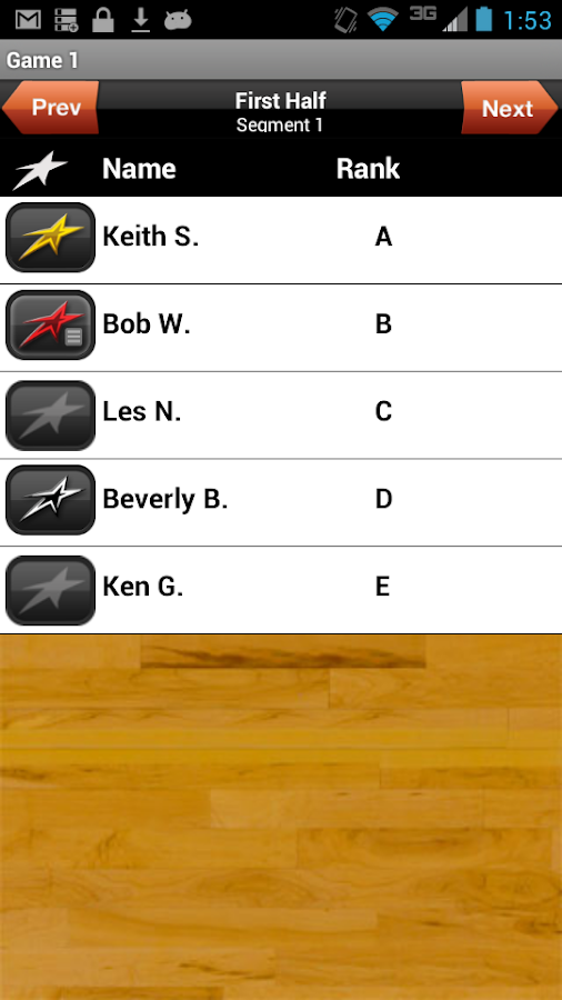 Upward Basketball Coach - screenshot