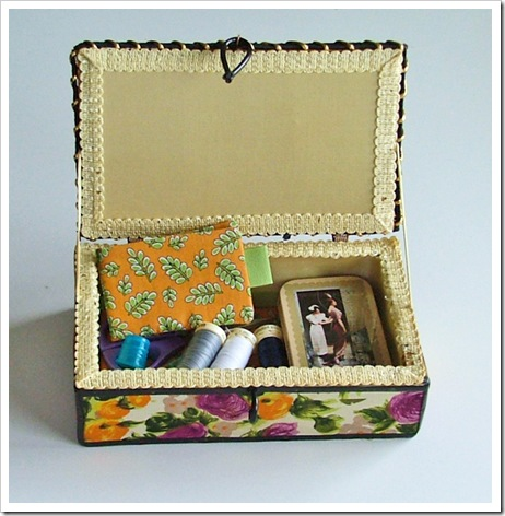 a new sewing box