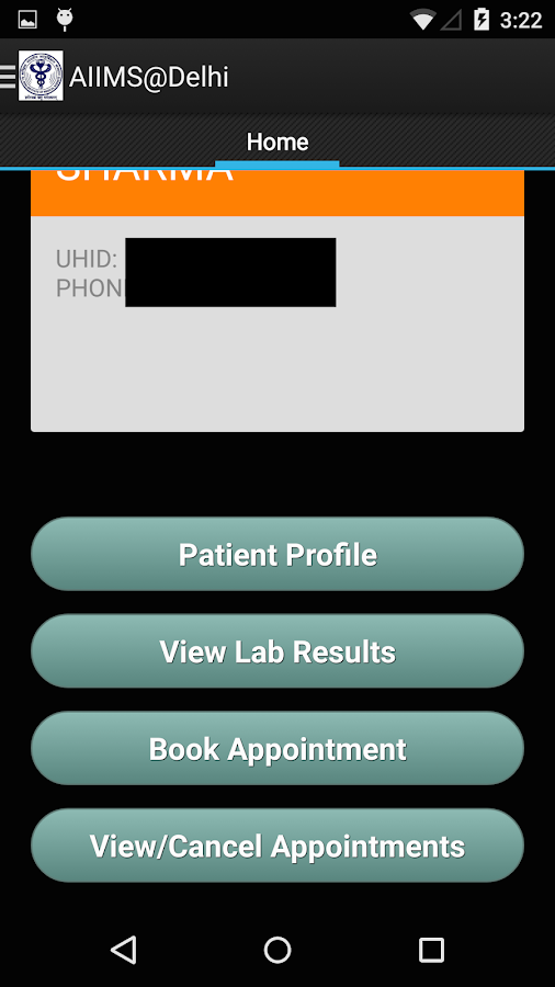 AIIMS@Delhi Official App- screenshot