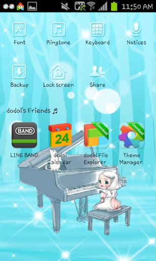【免費個人化App】forest Dodol launcher theme-APP點子