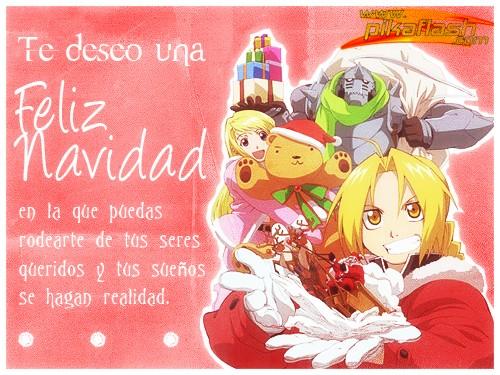 Felicitaciones De Navidad Anime.Frases Cortas De Navidad Y Ano Nuevo