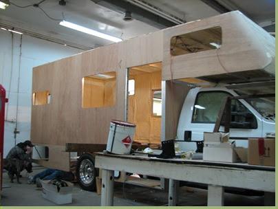Custom Motorhome Build The Build Part2 Outside Sheathing