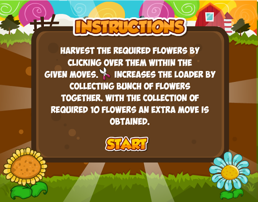 Farm Flowers Collector- screenshot