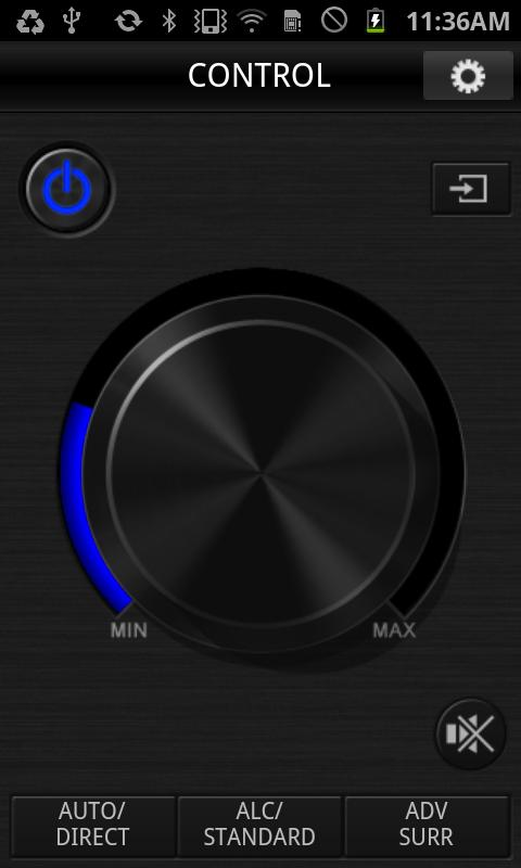 Pioneer ControlApp - screenshot