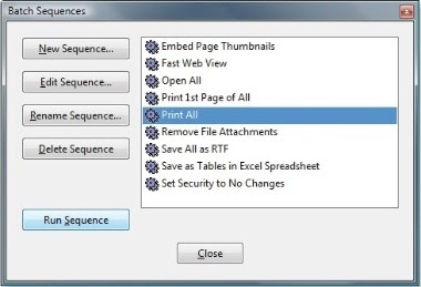 Tips & Techniques: How to batch print PDF files