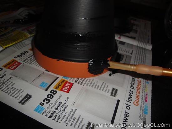 painting terracota pots