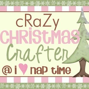 i heart naptime button christmas