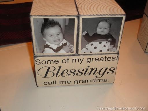 Gift Idea: Grandma Blocks! - I Heart Nap Time