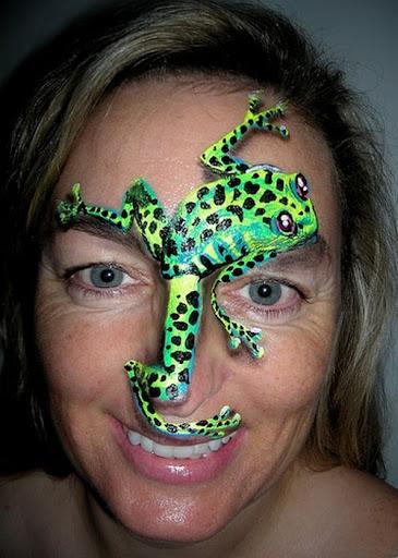 Perfect Face Painting Design Photos