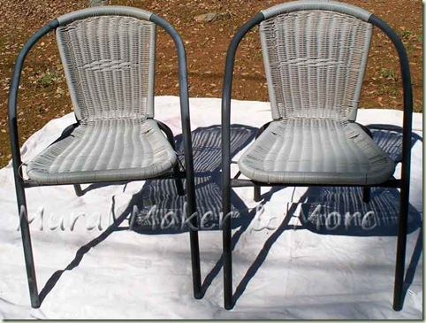 Strange Spray Paint Patio Chairs Just Paint It Blog Ibusinesslaw Wood Chair Design Ideas Ibusinesslaworg