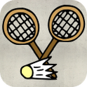 Interesting Badminton icon