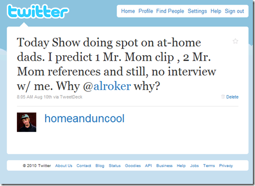 home and uncool twitter mr. mom