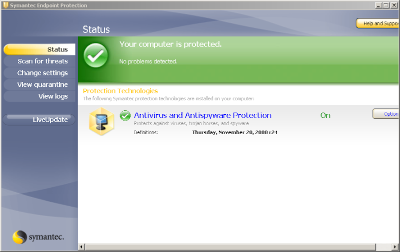 Symantec endpoint protection offline update – linhost. Info.