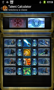 Talent Calculator For SWTOR - screenshot thumbnail