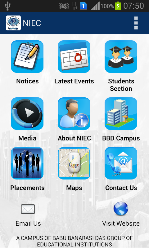 NIEC, New Delhi- screenshot