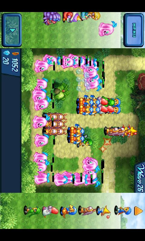 Crystal Defenders screenshot #3